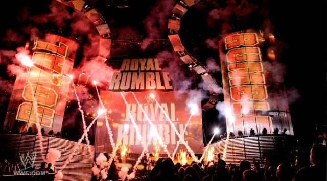 Royal Rumble 2012 Stage