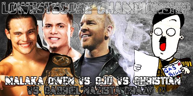 "LowestScore ChampionshipMalaka Owen © vs. GJD vs. Christian / vs. Gabriel""Nazista""Crazy"