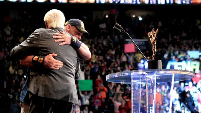 Ric Flair e John Cena