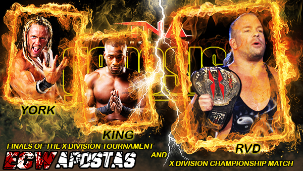 X DIVISION TOURNAMENT FINAL & X DIVISION CHAMPIONSHIP MATCH