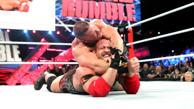John Cena vs. Ryback