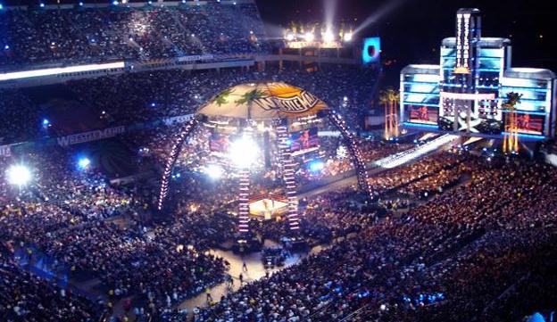 WWE WrestleMania 24 no Citrus Bowl